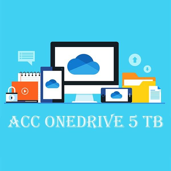 Acc OneDrive 5TB