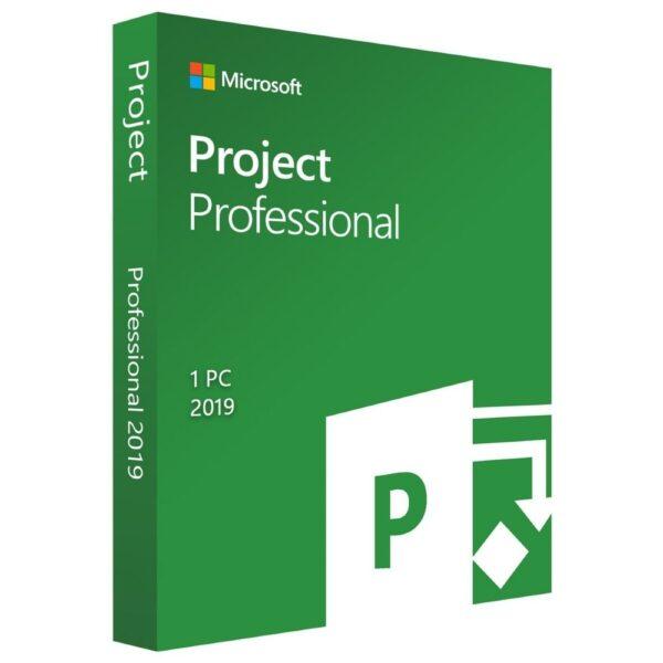 Key Microsoft Project 2019 Professional